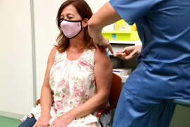 New record delivery of vaccines for the Balearics