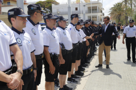 Bobbies on the beat in Playa de Palma