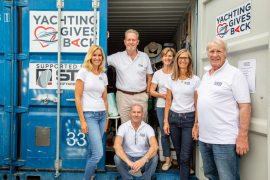 Sailing ahead for charity in Mallorca