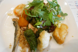 The restaurant review: An incredible choice on this €15.50 menú