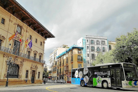 Palma bus passenger numbers reviving after last year