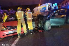 Head-on collision on the Via Cintura
