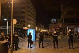 "Another night of Playa de Palma ""street party"""
