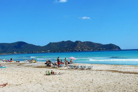 Cala Millor beach the focus of climate change study