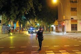 Curfew in Palma, Mallorca