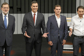 Spain's party leaders clash over corruption