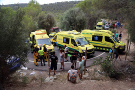 Serious injuries during Calvia rally