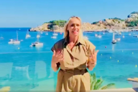 Maria Frontera, Mallorca Hotel Federation President sends a message from the Balearic Islands