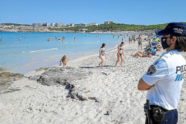 Capdepera beach patrols to control outlawed activities