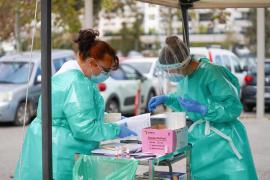 Balearics coronavirus figures for Monday