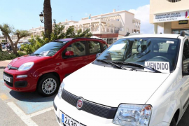A trace of optimism in the Balearic second-hand car market
