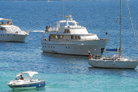 Government to stop illegal yacht charters in the Balearics