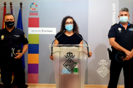Intensifying police operations against illegal street parties in Palma, Mallorca