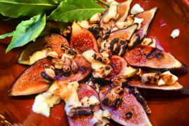 One of the simplest of all the fig dishes