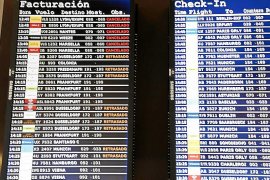 Cancellations and delays at Palma airport