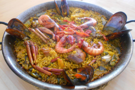The restaurant review: Temptation of a mixed paella