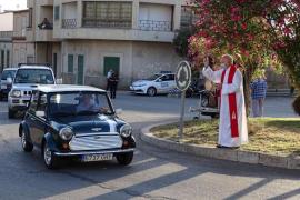 The blessings of Sant Cristòfol in Felanitx
