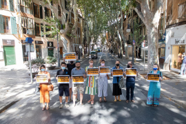 Retailers protest against Palma mobility policies