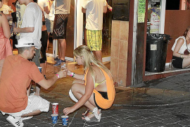 Concern at the level of drinking by Balearic teenagers
