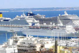 Under 20% of cruise ships are subject to the tourist tax