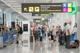 British holidaymakers in Mallorca beating the quarantine deadline
