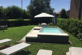 Portable pool in Mallorca