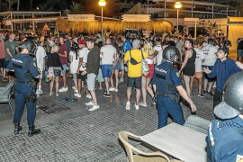 Illegal drinking out of control in Palma!