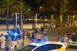 Steep fines for Illegal drinking parties in Mallorca