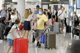 Brits arriving in Mallorca in droves