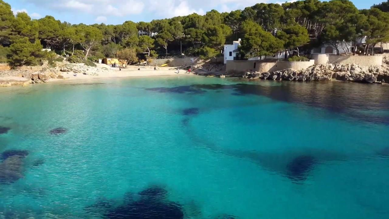 The Mallorca beach which is a big hit on instagram