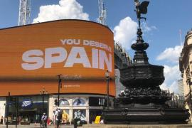 You deserve Spain, promotion campaign launched in London