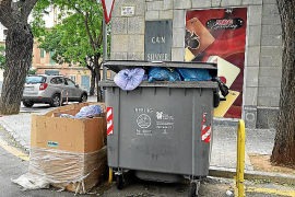 Anger greets Manacor cleaning and rubbish strike