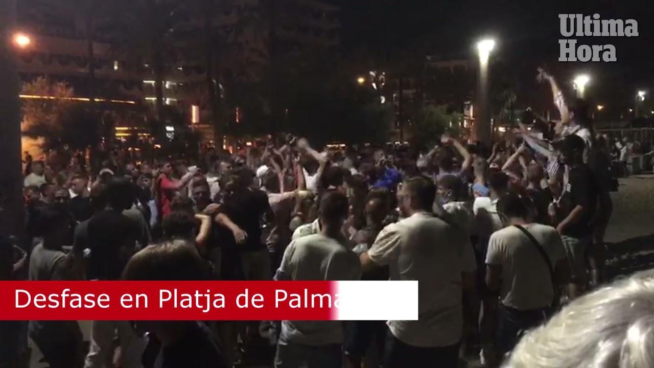 1,000 tourists party in Playa de Palma!