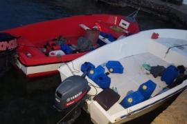Migrant boats, Mallorca