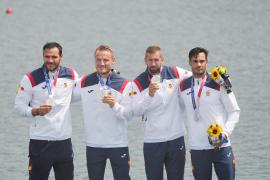 Mallorcan wins silver medal in K4 500m