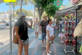 Tourists in Magalluf, Mallorca