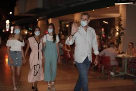 Royals dine out on last night of Mallorcan holiday