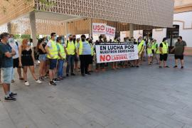 Bus strike in Mallorca's western region