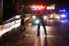 Man knocked down and killed on the Via Cintura
