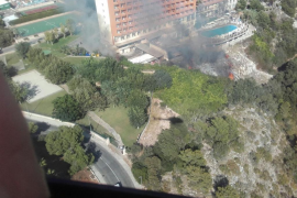 Fire forces hotel evacuation in Calas de Mallorca