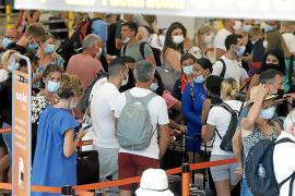 August passenger numbers at Palma Airport 90% of 2019