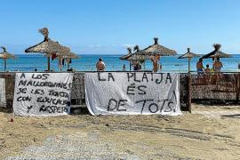 """Protests against Can Picafort beach """"privatisation"""" a """"media show"""""""