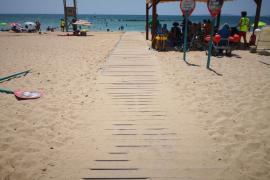 Viewpoint: Beach battle in Mallorca