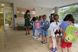 Start of the school year in Mallorca