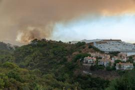 The blaze started on Wednesday around 9:30 p.m., according to the emergency services