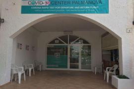 Health ministry closes a Palmanova Covid testing centre