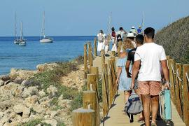 More national tourists in the Balearics than before the pandemic