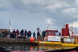 Migrants taken to Portocolom, Mallorca
