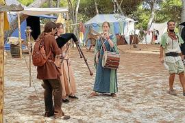 Medieval market opening in Palma