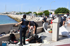 Port police upset by Palma local police action against illegal sellers